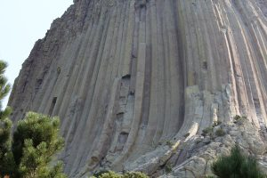 Climbers on the Devil's Tower